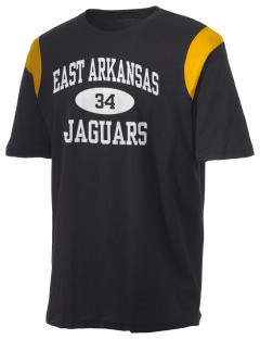 East Arkansas Community College Jaguars Holloway Men's Rush T-Shirt