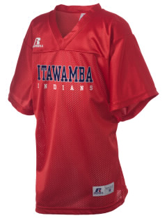 Itawamba Community College Indians Russell Kid's Replica Football Jersey