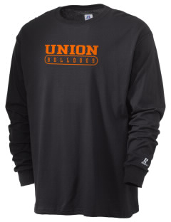Union College  Bulldogs  Russell Men's Long Sleeve T-Shirt