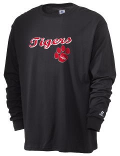 The University of West Alabama Tigers  Russell Men's Long Sleeve T-Shirt
