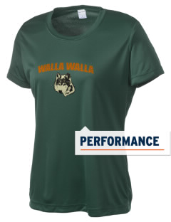 Walla Walla University Wolves Women's Competitor Performance T-Shirt