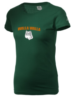 Walla Walla University Wolves  Russell Women's Campus T-Shirt