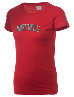 Manhattanville College Valiants  Russell Women's Campus T-Shirt