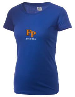 Pomona-Pitzer Athletics Sagehens  Russell Women's Campus T-Shirt