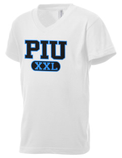 Piedmont International University BRUINS Kid's V-Neck Jersey T-Shirt