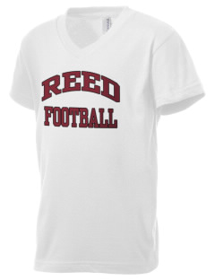 Reed College Griffins Kid's V-Neck Jersey T-Shirt