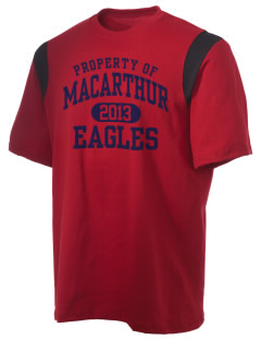 Douglas MacArthur Elementary School Eagles Holloway Men's Rush T-Shirt
