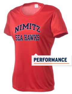Nimitz Middle School Sea Hawks Women's Competitor Performance T-Shirt