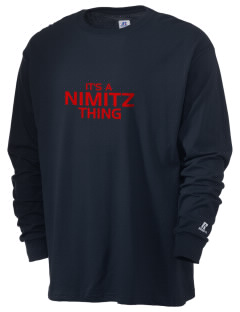 Nimitz Middle School Sea Hawks  Russell Men's Long Sleeve T-Shirt