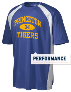 Princeton Elementary School Tigers Men's Dry Zone Colorblock T-Shirt