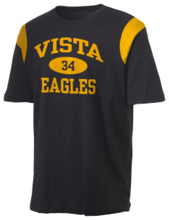 Vista High School Eagles Holloway Men's Rush T-Shirt