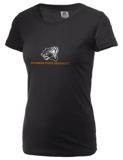 Savannah State University Tigers  Russell Women's Campus T-Shirt