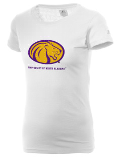 University of North Alabama Lions  Russell Women's Campus T-Shirt