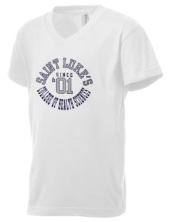 Saint Luke's College   COLLEGE Kid's V-Neck Jersey T-Shirt