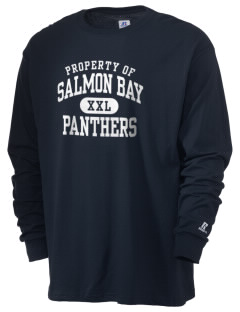 Salmon Bay Panthers  Russell Men's Long Sleeve T-Shirt