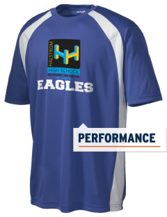 Agua Dulce Elementary School Eagles Men's Dry Zone Colorblock T-Shirt