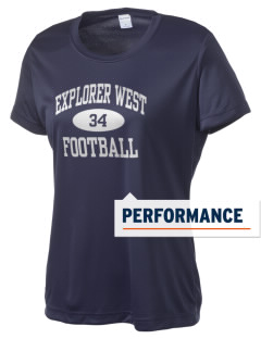 Explorer West Middle School Falcons Women's Competitor Performance T-Shirt