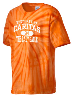 Caritas Academy The Lady Eagle Kid's Tie-Dye T-Shirt