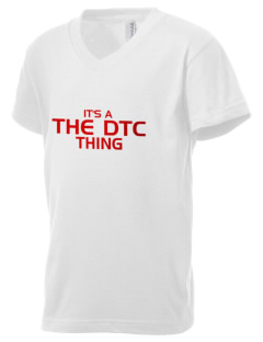 The DTC The DTC Kid's V-Neck Jersey T-Shirt