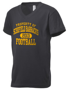 Schofield Barracks Kid's V-Neck Jersey T-Shirt