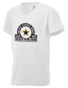 Aberdeen Proving Ground Kid's V-Neck Jersey T-Shirt