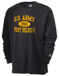 Fort Belvoir  Russell Men's Long Sleeve T-Shirt