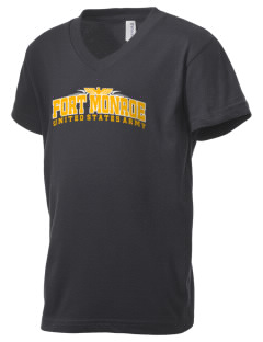 Fort Monroe Kid's V-Neck Jersey T-Shirt