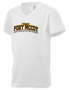 Fort Mccoy Kid's V-Neck Jersey T-Shirt