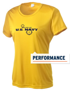 China Lake Naval Air Weapons Station Women's Competitor Performance T-Shirt