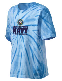Jacksonville Naval Air Station Kid's Tie-Dye T-Shirt
