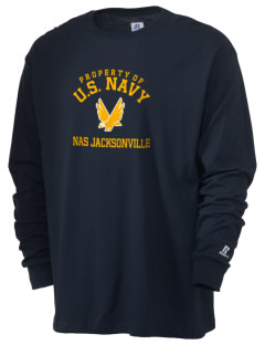 Jacksonville Naval Air Station  Russell Men's Long Sleeve T-Shirt