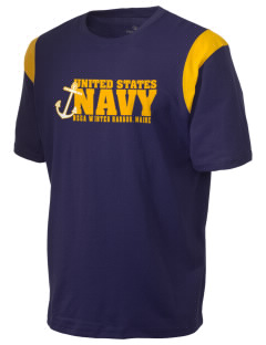 Winter Harbor Naval Security Group Activity Holloway Men's Rush T-Shirt