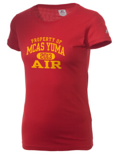 Yuma Marine Corps Air Station  Russell Women's Campus T-Shirt