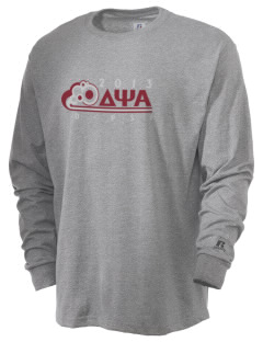 Delta Psi Alpha  Russell Men's Long Sleeve T-Shirt