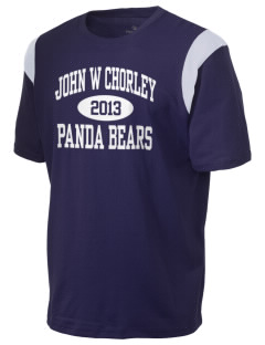 John W Chorley Elementary School Panda Bears Holloway Men's Rush T-Shirt
