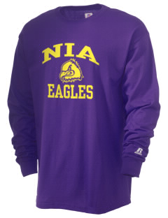 NIA Community Public Charter School Eagles  Russell Men's Long Sleeve T-Shirt