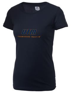 The University of Tennessee at Martin Skyhawks  Russell Women's Campus T-Shirt