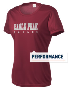 Eagle Peak Middle School Eagles Women's Competitor Performance T-Shirt