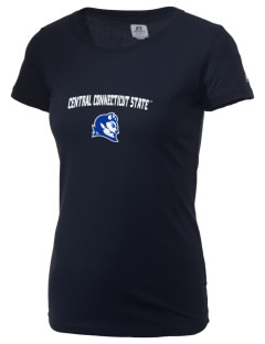 Central Connecticut State University Blue Devils  Russell Women's Campus T-Shirt