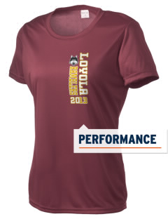 Loyola University Chicago Ramblers Women's Competitor Performance T-Shirt