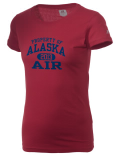 Alaska Air National Guard  Russell Women's Campus T-Shirt