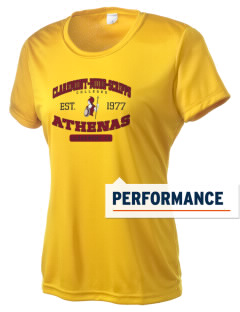 Claremont-Mudd-Scripps Women's Athletics Athenas Women's Competitor Performance T-Shirt