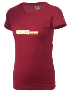Claremont-Mudd-Scripps Women's Athletics Athenas  Russell Women's Campus T-Shirt