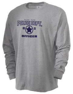 Palos Park Police Department  Russell Men's Long Sleeve T-Shirt