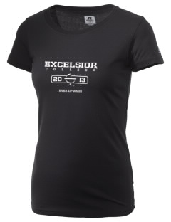 Excelsior College Start to Finish  Russell Women's Campus T-Shirt