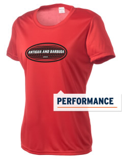 Antigua and Barbuda Women's Competitor Performance T-Shirt