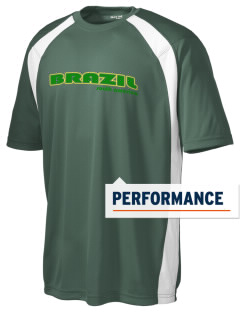 Brazil Men's Dry Zone Colorblock T-Shirt