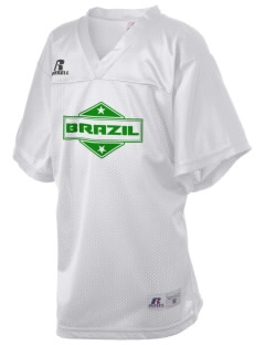 Brazil Russell Kid's Replica Football Jersey