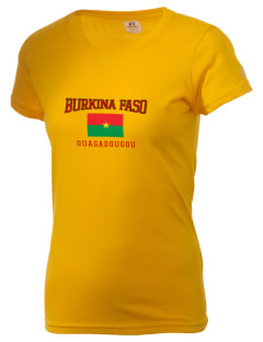 Burkina Faso  Russell Women's Campus T-Shirt