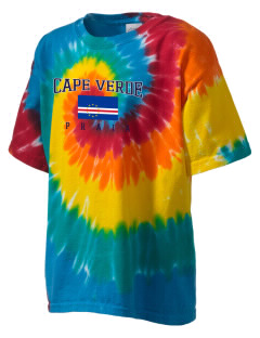 Cape Verde Kid's Tie-Dye T-Shirt